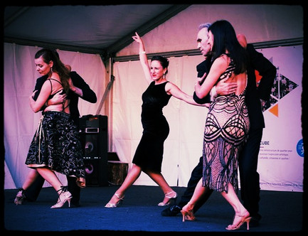 Awesome Tango Show by Tangueria dancers and Flavia...