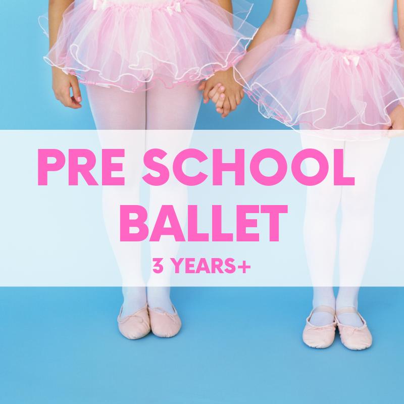 Pre School Ballet (3-4yrs) Monday TRIAL