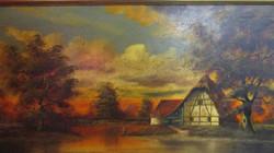 Fischer oil painting