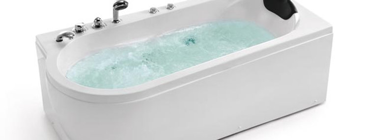 Simple bath tub