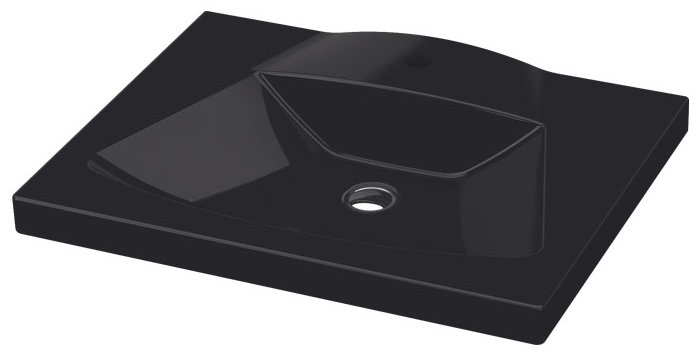 VEGA WALL BASIN BLACK