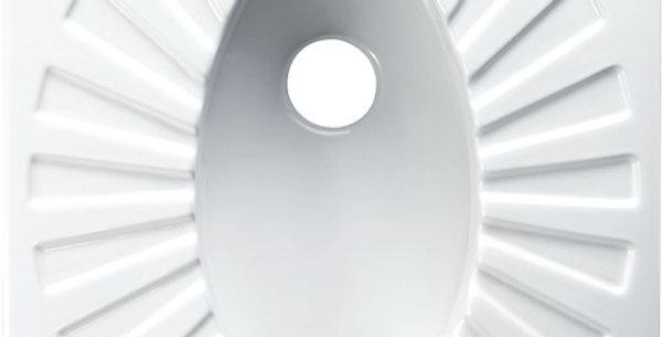 Omega Closed Rim 60x60 cm Squatting Pan