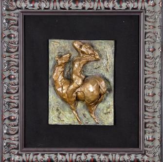Unveiled- 20.5x 18.5 Bronze Sculpture.jp