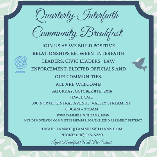 Interfaith Breakfast