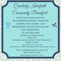 Interfaith Breakfast