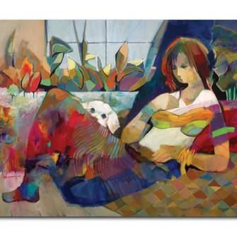 Beautiful Feeling 30 x 40 print on Canva