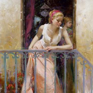 At the Balcony
