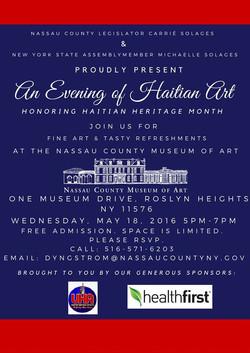 An Evening of Haitian Art