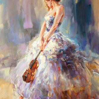 Flirting with a Violin 3 40 x 31 1-2.jpg