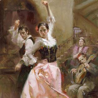 Dancing in Barcelona