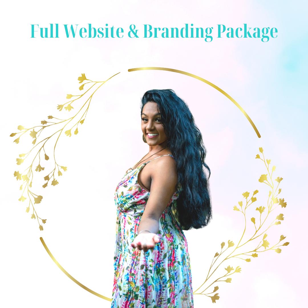 Full Branding & Website Package