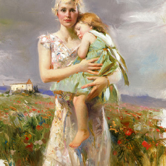 Angel-from-Above-by-Artist-Pino-Daeni-Ar