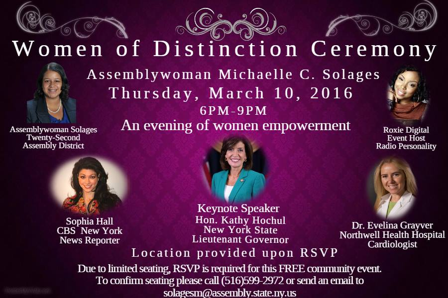 Women of distinction Ceremony