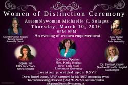 Women of distinction Ceremony