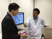 Entrevista, Prof. Alexandre Munhoz, TV, Scanner 3D Protese de Mama
