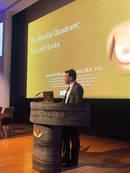 Conferência Prof. Alexandre Munhoz, no London Breast Meeting