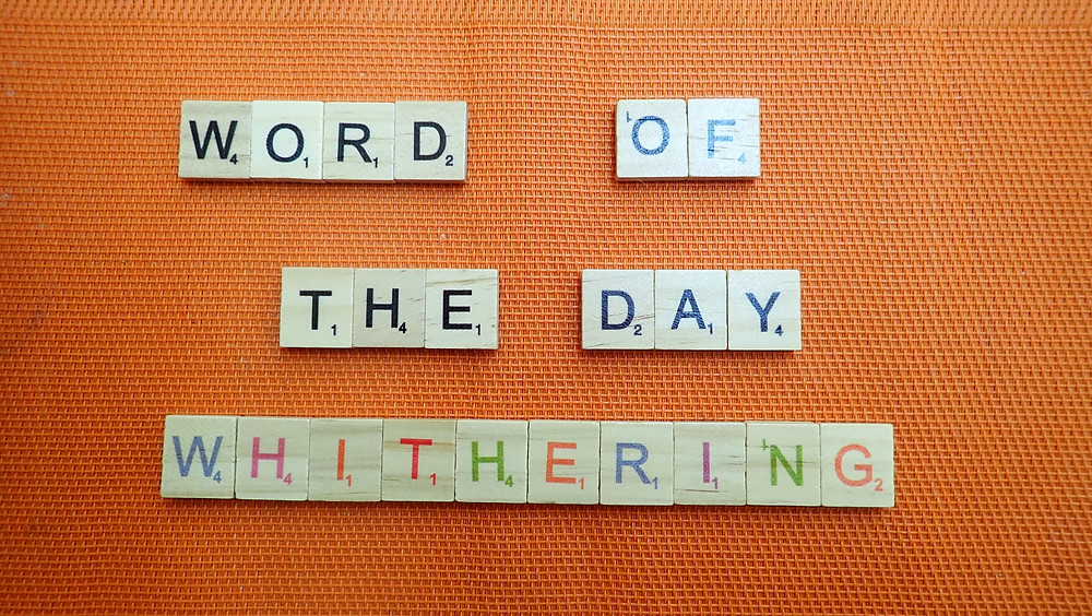 How to pronounce whithering