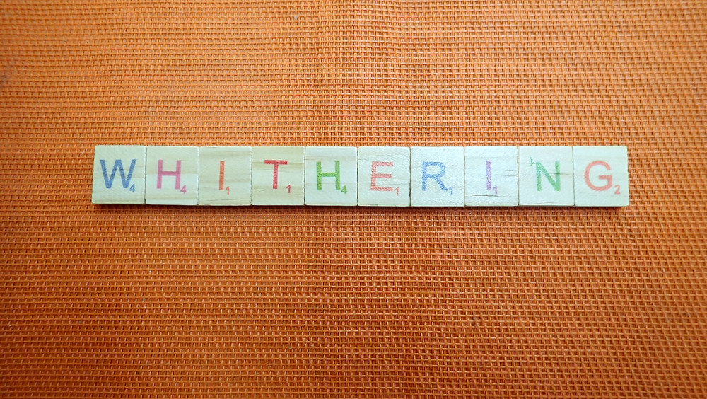 Word of the Day  - Withering