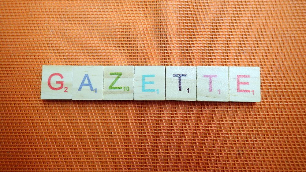 Word of the Day  - Gazette