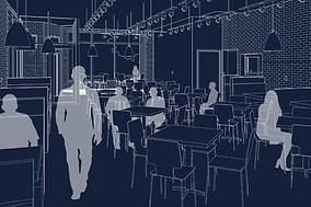 5 Loaves Eatery | Restaurant Design | Adaptive Reuse | NOF | Chicago