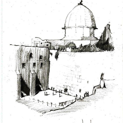 Western Wall and Dome of the Rock_ Jerus