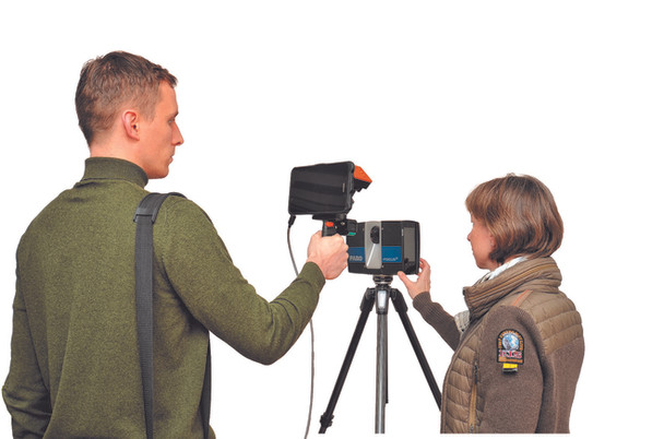 Vom 3D-Laserscan direkt ins BIM-Modell