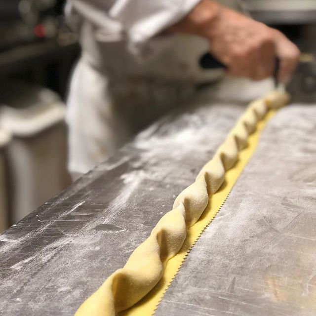 Pasta making with _chefvittorioettore #h