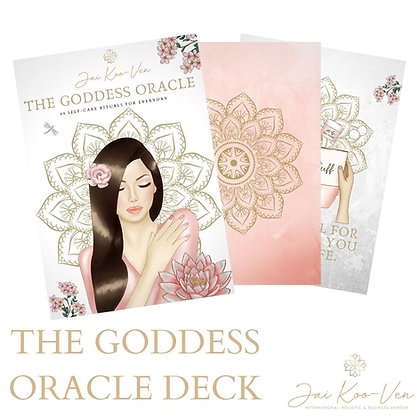 The Goddess Oracle Deck
