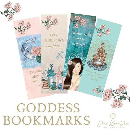 GODDESS BOOKMARKS