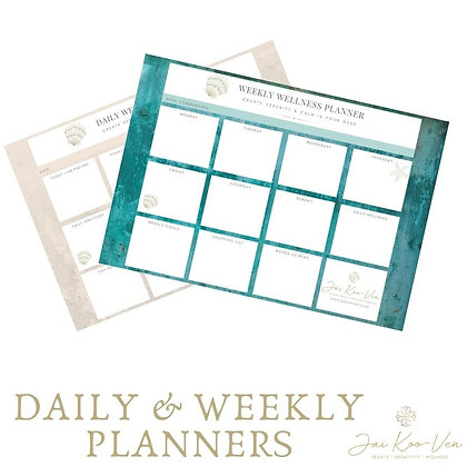 DAILY OR WEEKLY PLANNER
