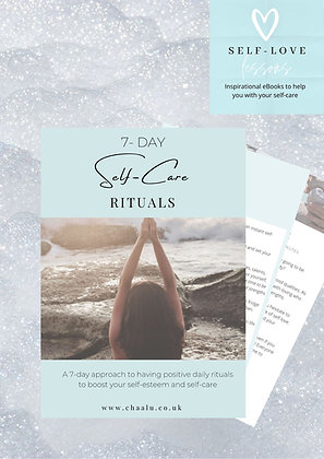 7-Day Self-Care Rituals Course, Workbook & Personalised Printable