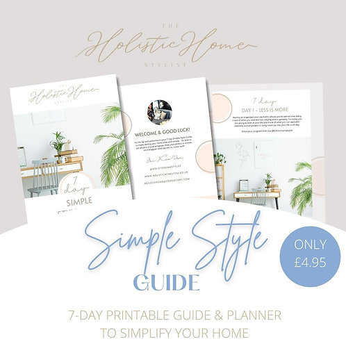7 Day Simple Style Guide