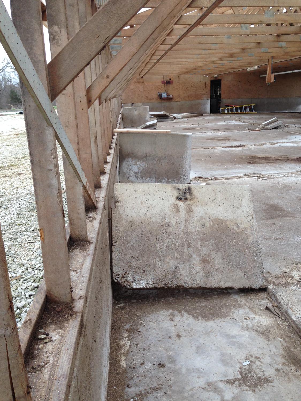 Removing Concrete Walls