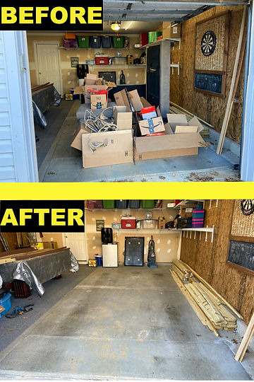 Before and After Junk Removal