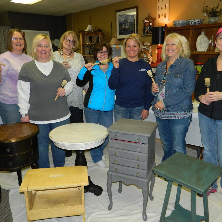 Chalk Painting Furniture Class April 10th