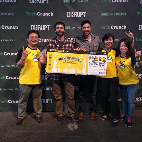 BendLabs recibe el premio Taiwan Startup Stadium en la TechCrunch Disrupt 2015
