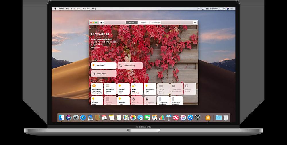 La app Home para macOS Mojave utiliza esta tecnología.