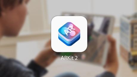 ARKit 2, interacción multiusuario en experiencias de realidad aumentada.
