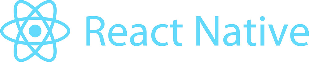 React Native, logo in blue