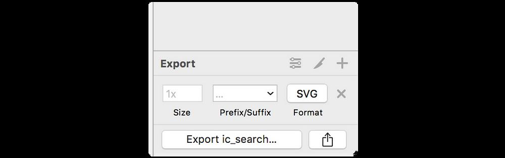 Exporta tu archivo en SVG