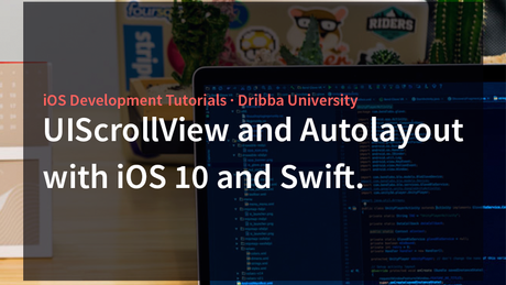How to use UIScrollView with Autolayout in Swift. iOS Tutorials.