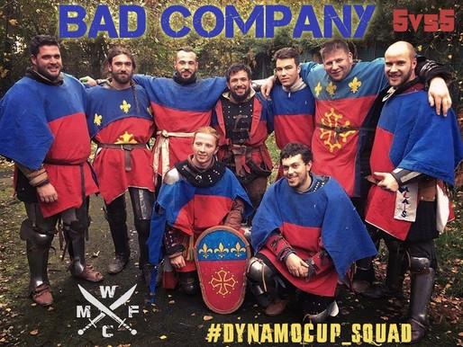 КОМАНДА КУБКА ДИНАМО-2017: «BAD COMPANY»