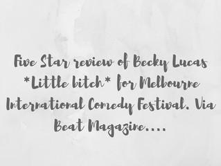 Becky Lucas *Little Bitch* @ MICF 2017