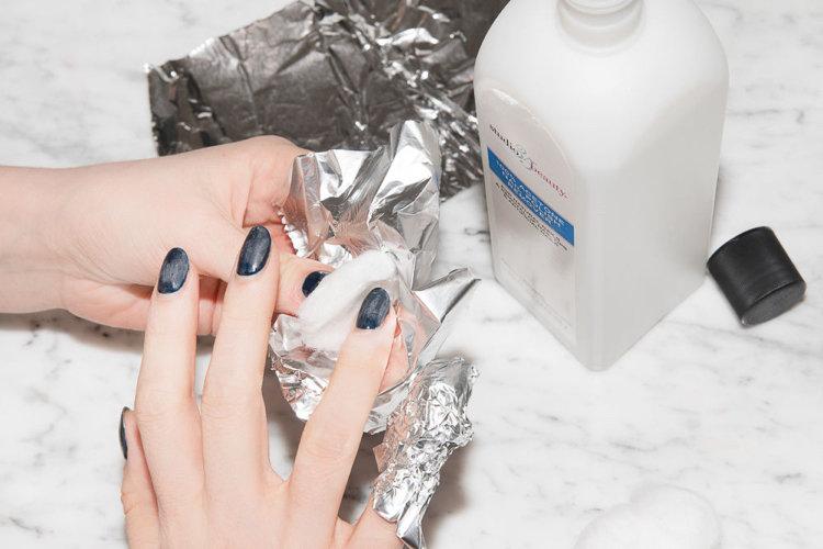 Schellac Hände + entfernen Schellac