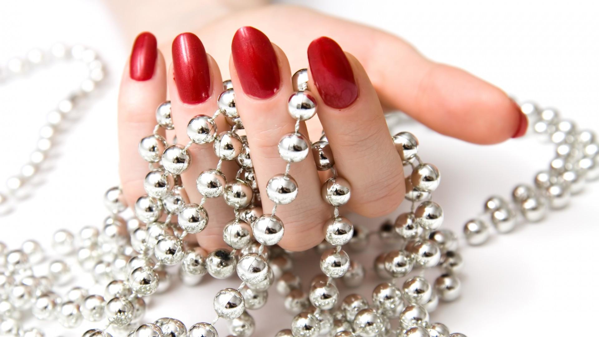 Schellac Hände