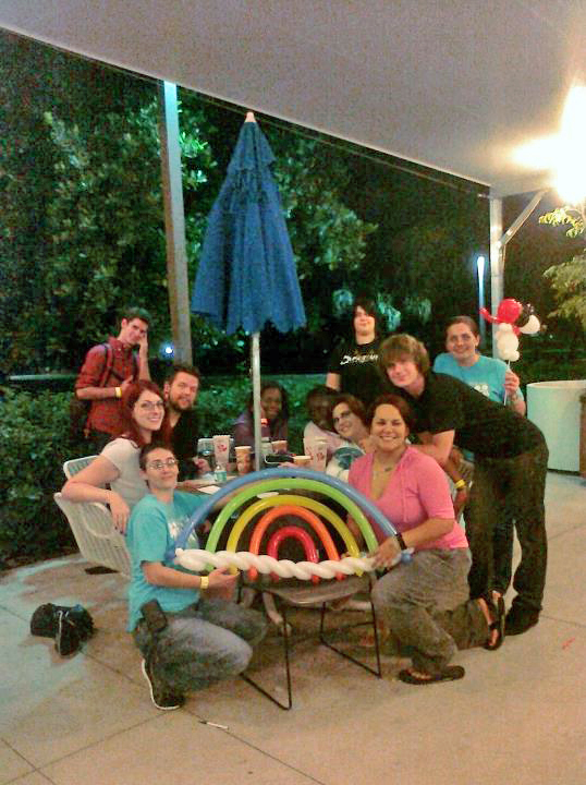 Visiting with Broward College's GSA