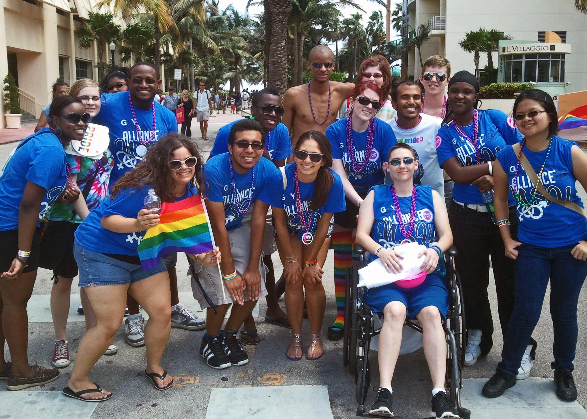 NSU's GSA at Miami Pride