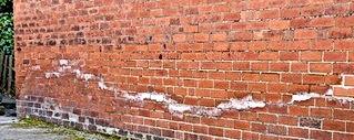 Murguard, traiement humidité mur, Traces de salpêtre