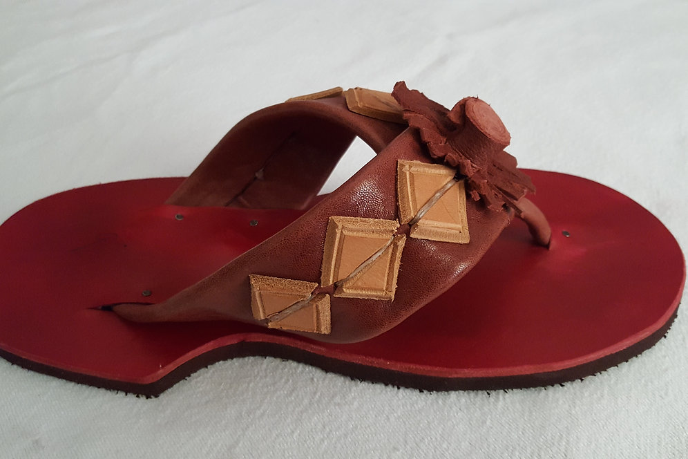 Leather Original Original African Handcrafted Handcrafted Leather African Sandals N80knOwPX
