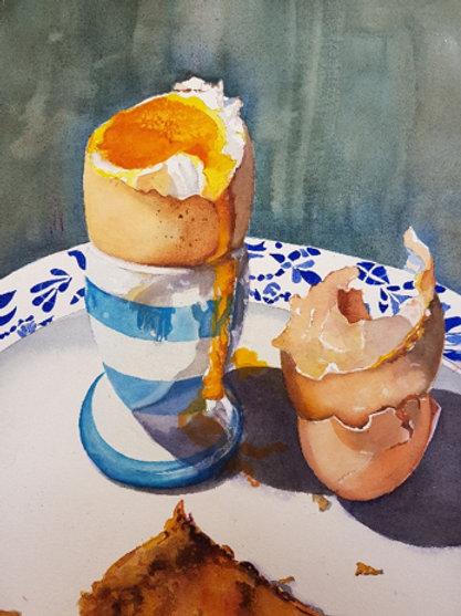 Georges eggs.